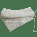 Тряпка для мытья пола из ХПП (белая) 50х75 плотность 180 г