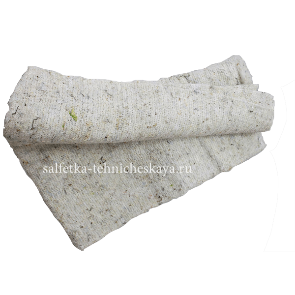 Тряпка для пола из ХПП (белая) 40х75 см. (неоверлог) в связке.