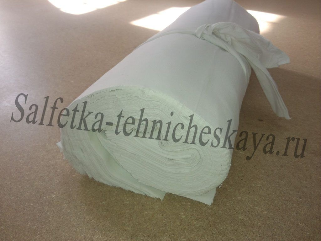 Протирочный материал техсалфетка в рулоне