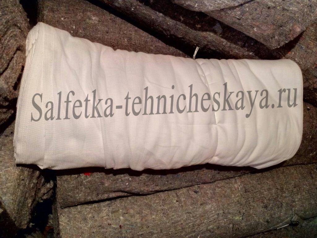 Протирочный материал в рулонах вафельная ткань