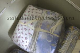 Салфетки из бязи по ГОСТу — особенности и использование.