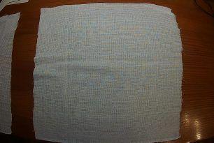 Техническая вафельная салфетка размер 40х40 см.