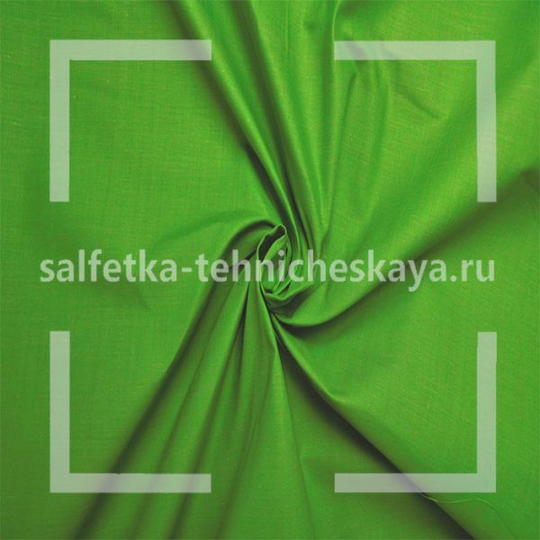 Бязь зелёная ФлёрТекс