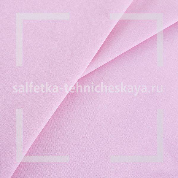 Ткань бязь розовая